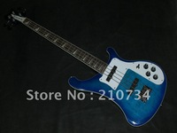 Wholesale -    best Musical Instruments 4 strings blue Electric bass