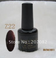 Nail polish. Z22  Nail polish uv gel .soak off gel polish , QQ gel+ free shipping   15ML