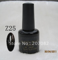 Nail polish. Z25  Nail polish uv gel .soak off gel polish , QQ gel+ free shipping   15ML