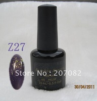 Nail polish. Z27  Nail polish uv gel .soak off gel polish , QQ gel+ free shipping   15ML