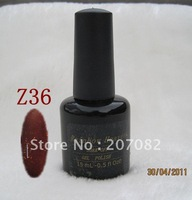 Nail polish. Z36  Nail polish uv gel .soak off gel polish , QQ gel+ free shipping   15ML
