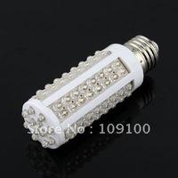 Free shipping /E27 108 LED pure white Bulb Light Energy Saving LED 7 W Corn Spot Light 85-265V