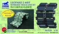 Bronco AB3528 1/35 Leopard 2 MBT Workable Track Link Set