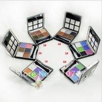 MONPLAY Meng Bala crystal diamond shiny six-color eye shadow box (with brush) 12g  6-color optional free shipping