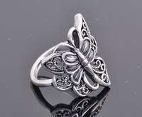 new arrival!20PCS  fashion lovely animal ring jewellery,chamming alloy butterfly crystal rings-s018 free shipping