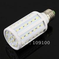 Free shipping /E27 11W 60-LED 5630 SMD pure White Energy Saving Lamp Light Bulb 85-265V