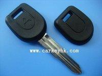 Free shipping Mitsubishi key cover,transponder car key shell& key case& key blanks with left blade