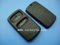 Free shipping Mitsubishi key case,2 buttons remote key cover& key blank& key shell,car key