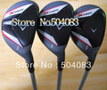 2012 New  Golf Hybrids Fairway Woods Set 3#,4#,5# (3PC),Clubs/Set,Regular,golf clubs Free shipping(China (Mainland))