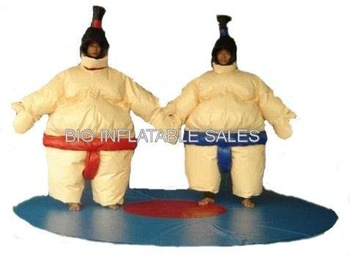 Large Inflatable Costumes for SUMO  Inflatable Judo WRESTLER Suits (2) bouncehouse
