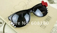 Promotion Full Frame Stylish Hello Kitty Women&amp;#39;s Sunglasses Colorful Retro Summer Glasses Parim Free Shipping