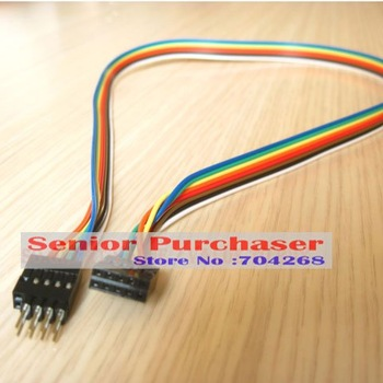 Internal Motherboard mainboard host case USB male to female Extension Cable 8p retail wholesale