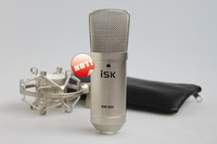 Free shipping  ISK BM-800 professional sound record music create broadcast Capacitive condenser Microphone