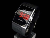 Freeshipping South Korea Digital LED watch ODM intercrew LED watch unisex Wristwatches 20pcs