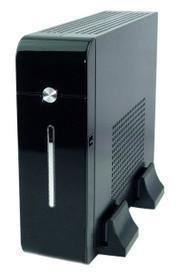 MINI-ITX Chassis,Mini PC Case E11,Thin Client Application,DC2ATX_60W,12V5A Adapter, 2*USB,1*POWER_SW,1*MIC,1*SPK,250x190x60(mm)(China (Mainland))