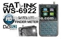 SATLINK WS6922 hd mpeg 4 DVB-S2 Digital Satellite Finder Meter, 3.5inch HD LCD screen