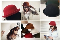 ENGLAND wool hat/ classic adult hat fedoras .can mix color +CPAM free shipping