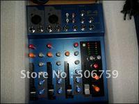 Miniature F4 small mixer recording mixer 4 road input 48 V phantom power 1pcs