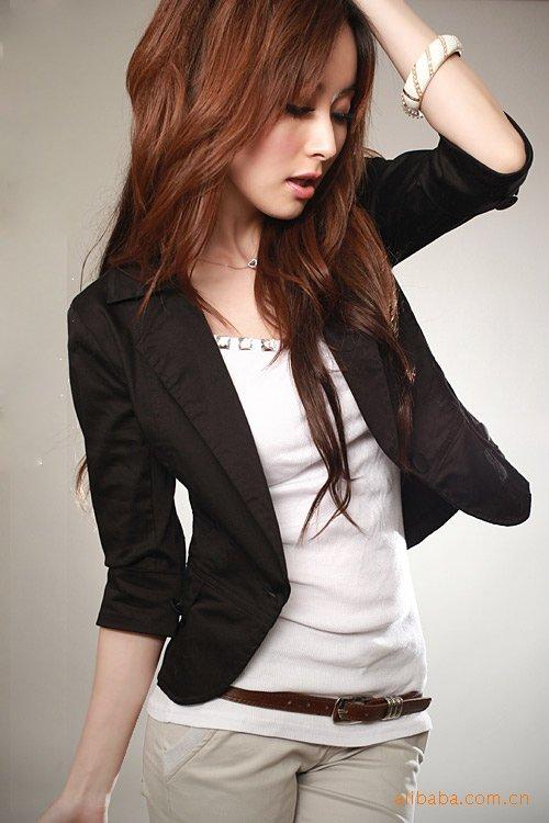 Short Sleeve Blazer Women