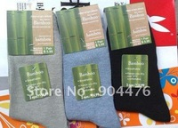 2012 fashion Deodorant antibacterial socks/Bamboo fiber Men's Socks,mix color,10pcs/lot