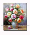 Free shipping!!High Quality Unique 100% original hand-painted flower oil painting 028