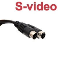 1.2M 4 PIN S-VIDEO SVHS TV MALE TO MALE CABLE ADATPER 30008