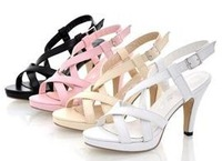free shipping NEW high heel  high heels  fashion  women  sexy  P372 Hot sell size 32-43 sandals