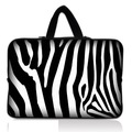 "Zebra 15"" 15.4"" 15.6"" Neoprene Notebook  Sleeve bag Case Cover Pouch Skin Protector"