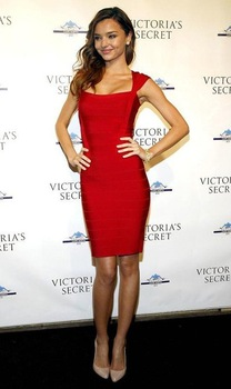 Best Selling 2012 hightop Fashion Brand Red Women Evening  Bandage Dress, Lady Party Dress With New Design Fit EuroStyle