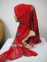 a-008 Free Shipping,Muslim Hijab,Shawl, Newest Muslim Women Wear Islamic Lady Head Cover Accept