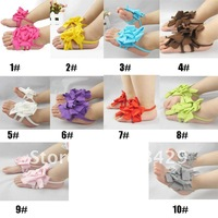 50pair/lot 2012 new style Top Baby Shoes Flower Design! infant footwear sandals walker shoes/ Toddler flower Shoes