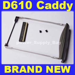 Lot 10 HDD Hard Drive caddy Adapter For Dell Latitude D610 + IDE Connector(China (Mainland))