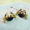 Retail & Wholesale Alloy Crab Stud Earrings Ear Pin Jewelry Beat For Women, S2528