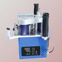 Full set 10 version manual edge bander, speed control portable edge banding machine with high quality