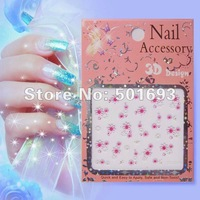 3D Nail tattoo decoration , Mix 30 designs to wholesale ! Free shipping !