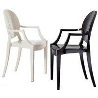 Victoria Ghost Chair Arm Chair