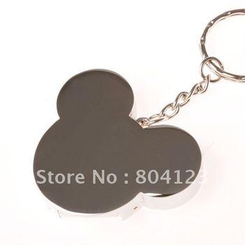 retail 8GB metal mickey head shape USB flash drive pen drive pendrive