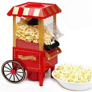 Festival gift Retro mini classic horse models Popcorn machine Popcorn maker