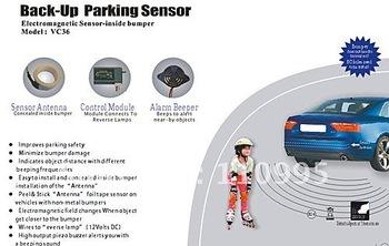 Backup parking sensor system - Electromagnetic Sensor - inside bumper
