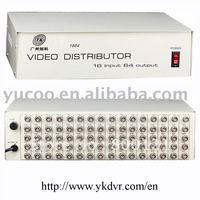 (YK-TG16-64) 16 Input 64 Output  video splitter bnc