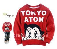 6pcs boy tokyo atom children's sweatshirt children sweatshirt Minnie Mouse Cartoon Hoodies Long Sleeve Sweatshirts kids clothes