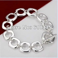 Hot!Free Shipping wholesale 925 Sterling Silver Fashion Jewelry Bracelet.GB22