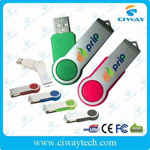 Free shipping wholesale 10pcs/lot 8gb cheap swivel USB pen drive(China (Mainland))