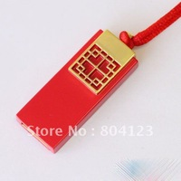 Wholesale NEW Chinese knot Genuine 4GB 8GB 16GB 32GB USB Memory Stick Flash Pen Drive, free shipping