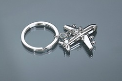 Wholesale Promotion Gifts/ American Airlines Metal Keychains/ Wedding Favors Free Shipment/ 20pcs per lot(China (Mainland))
