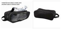 durable promotional travel sports mesh shoe bag