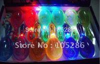 Factory Trialsale 36pcs LED flashing maraca Party supplier light up maraca Holiday KTV items free shiping