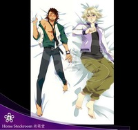 Free Shipping! dakimakura ,Hugging pillow case pillow cover tiger  and bunny 01