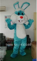 Blue Easter bunny bug rabbit Cartoon Mascot Costume free shipping