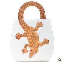 New Hot Fashion Amliya Abstract Lady's Handbags Messenger bags tote bag Crocodile handbag